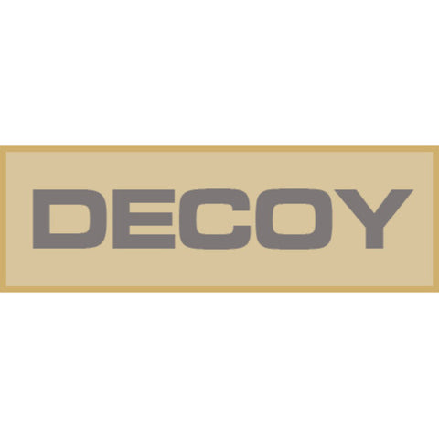 Decoy Patch Large (Tan)