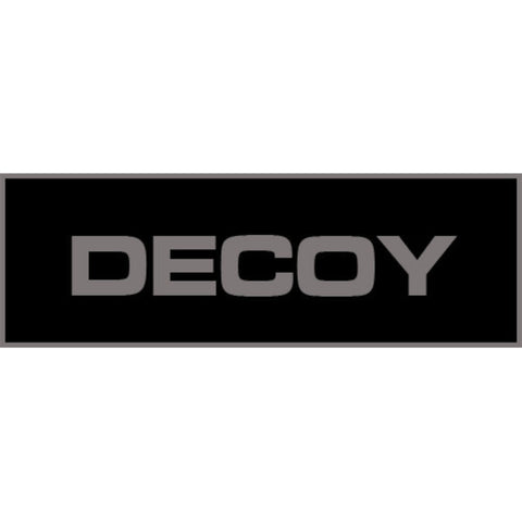 Decoy Patch Small (Black)