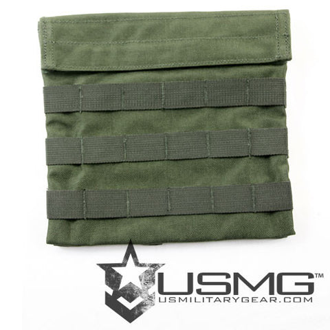OLIVE DRAB Low-Profile Admin Pouch