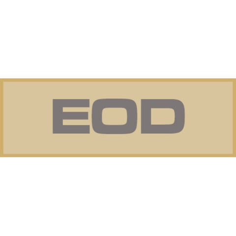 EOD Patch Large (Tan)