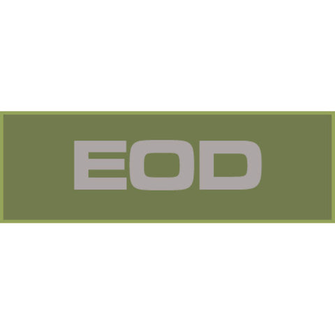 EOD Patch Large (Olive Drab)
