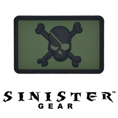 "Sinister Gear ""Eyepatch"" PVC Patch - OD"