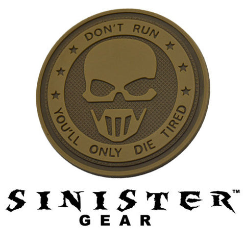 "Sinister Gear ""GRAW"" PVC Patch - Arid"