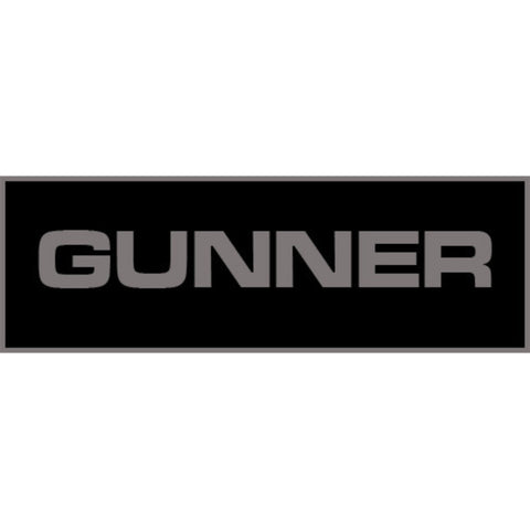 Gunner Patch Large (Black)