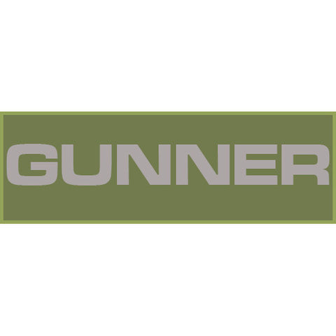 Gunner Patch Small (Olive Drab)