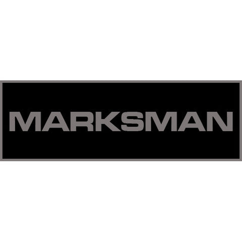 Marksman Patch Large (Black)
