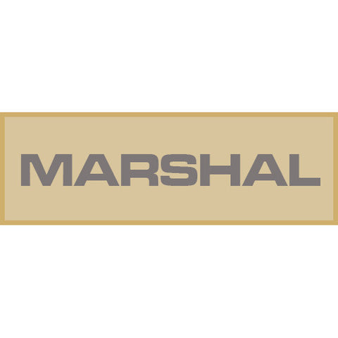 Marshal Patch Large (Tan)