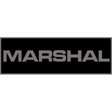 Marshal Patch Large (Black)