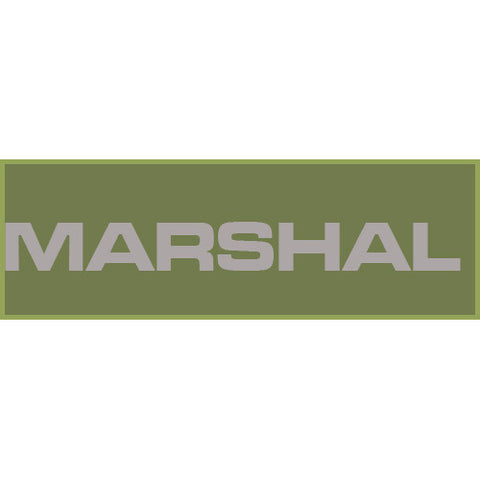 Marshal Patch Large (Olive Drab)