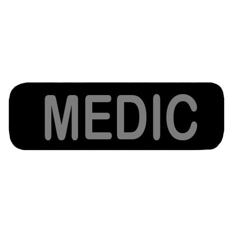 Medic Patch Large (Black)