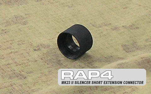 MK23 II Silencer 1/2 Inch Extension Connector (22mm muzzle threads)