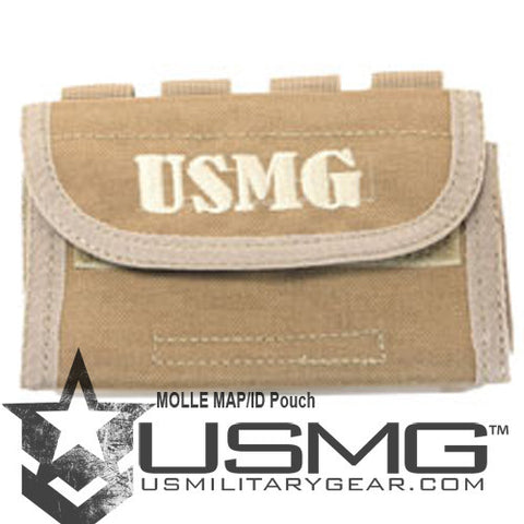 TAN MOLLE  ID / Map Pouch