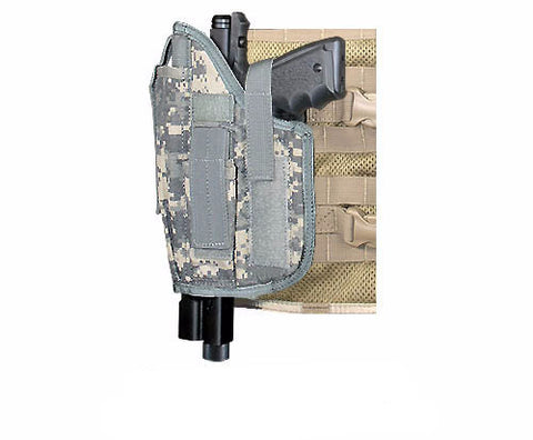 MOLLE Cross Draw Holster Left Hand Large
