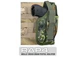 MOLLE Cross Draw Holster Right Hand Small