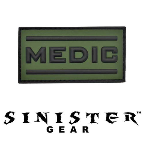 "Sinister Gear ""Medic"" PVC Patch - OD"