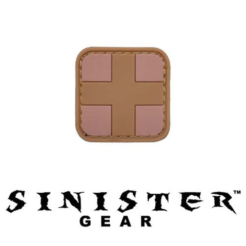 "Sinister Gear ""Medic Square"" PVC Patch - Arid"