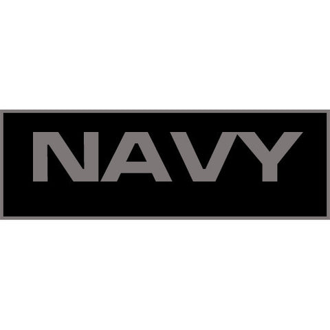 Navy Patch Small (Black)