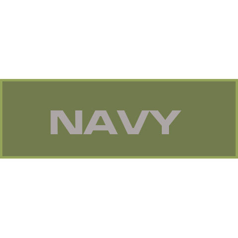 Navy Patch Large (Olive Drab)