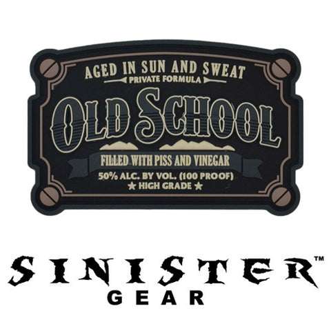 "Sinister Gear ""Old School"" PVC Patch - SWAT"