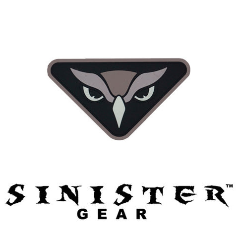 "Sinister Gear ""Owl"" PVC Patch - SWAT"