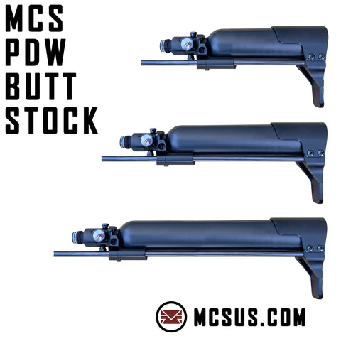 MCS Universal PDW Air Tank Buttstock