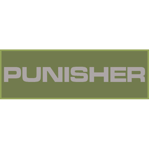 Punisher Patch Small (Olive Drab)