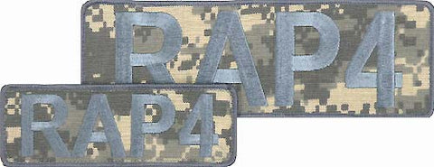 RAP4 Camo Patch Set (ACU)