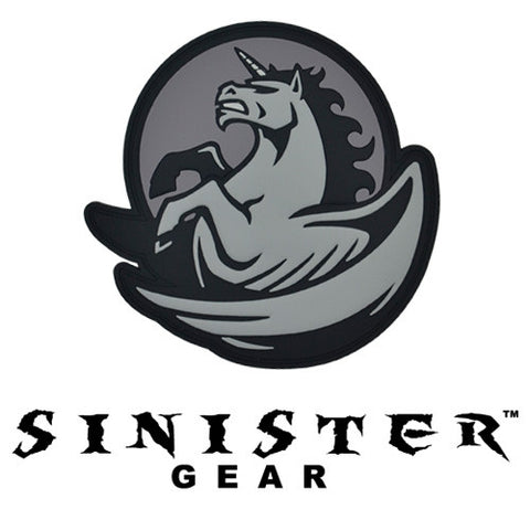 "Sinister Gear ""Pegasus"" PVC Patch - Dark"