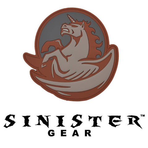 "Sinister Gear ""Pegasus"" PVC Patch - Subdued"
