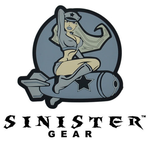 "Sinister Gear ""Pinup Bomb"" PVC Patch - ACU"