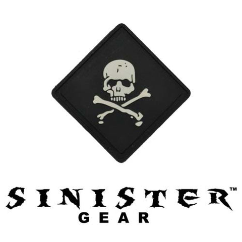 "Sinister Gear ""Pirate Bones"" PVC Patch - SWAT"