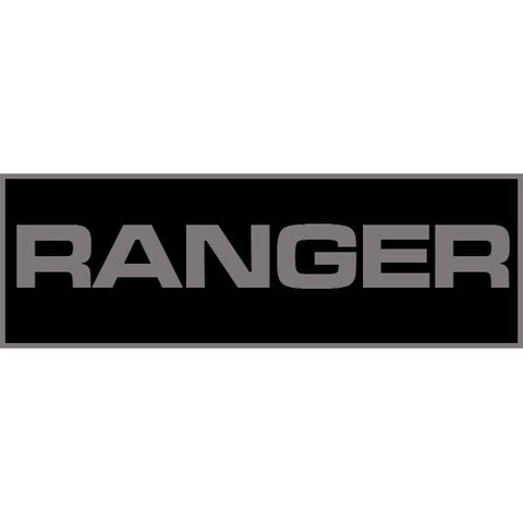 Ranger Patch Small (Black)
