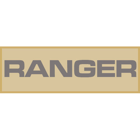 Ranger Patch Small (Tan)