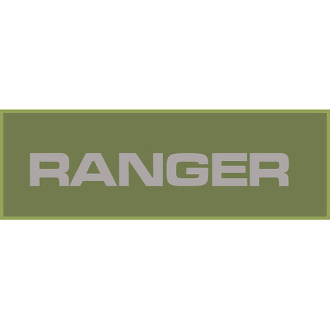 Ranger Patch Large (Olive Drab)