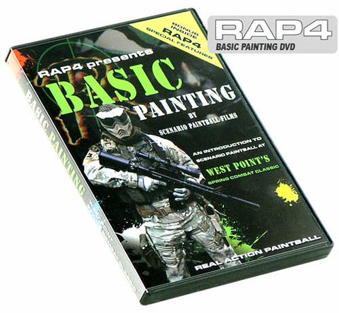 RAP4 Basic Painting Scenario DVD