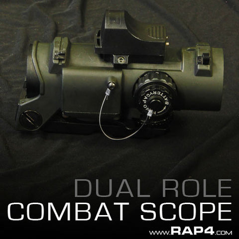 Dual Role Combat Scope and Sight