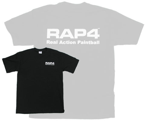 RAP4 Black T-Shirt