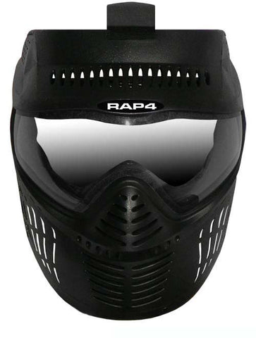 Hawkeye Dual Thermal Lens Paintball Mask (Black)