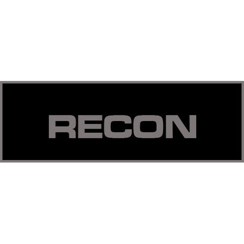 Recon Patch Large (Black)