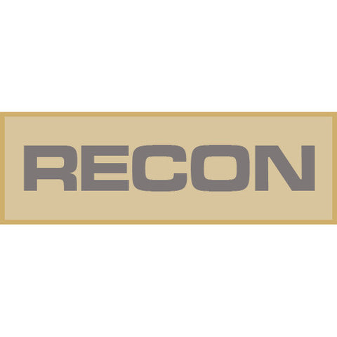 Recon Patch Large (Tan)