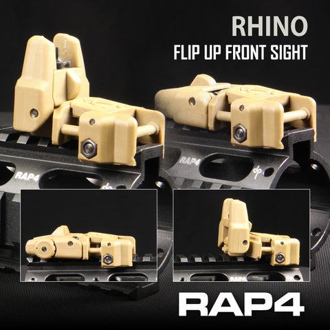 Rhino Flip-Up Front Sight (Tan)