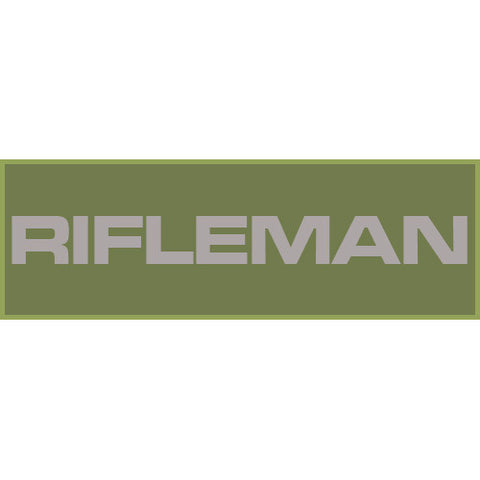 Rifleman Patch Small (Olive Drab)