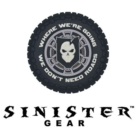 "Sinister Gear ""Roads"" PVC Patch - SWAT"