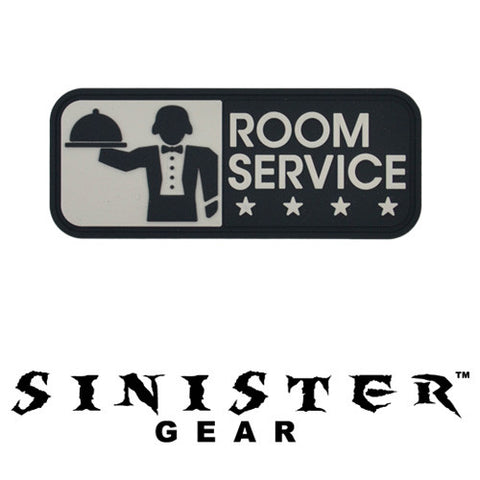 "Sinister Gear ""Room Service"" PVC Patch - SWAT"