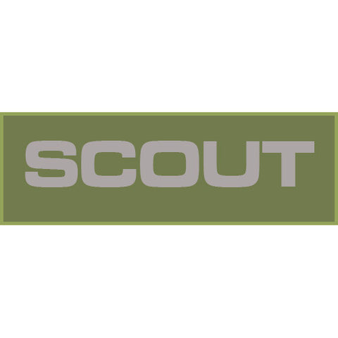 Scout Patch Small (Olive Drab)