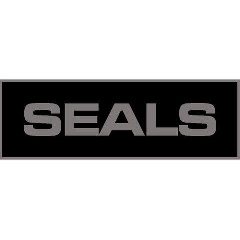 Seals Patch Large (Black)