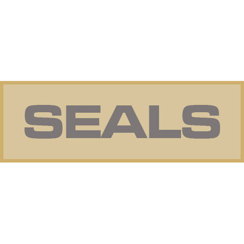 Seals Patch Small (Tan)