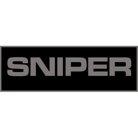 Sniper Patch Large (Black)