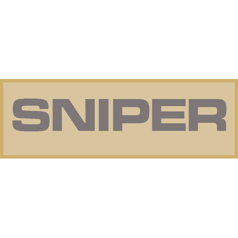 Sniper Patch Large (Tan)