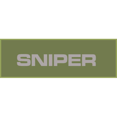Sniper Patch Large (Olive Drab)